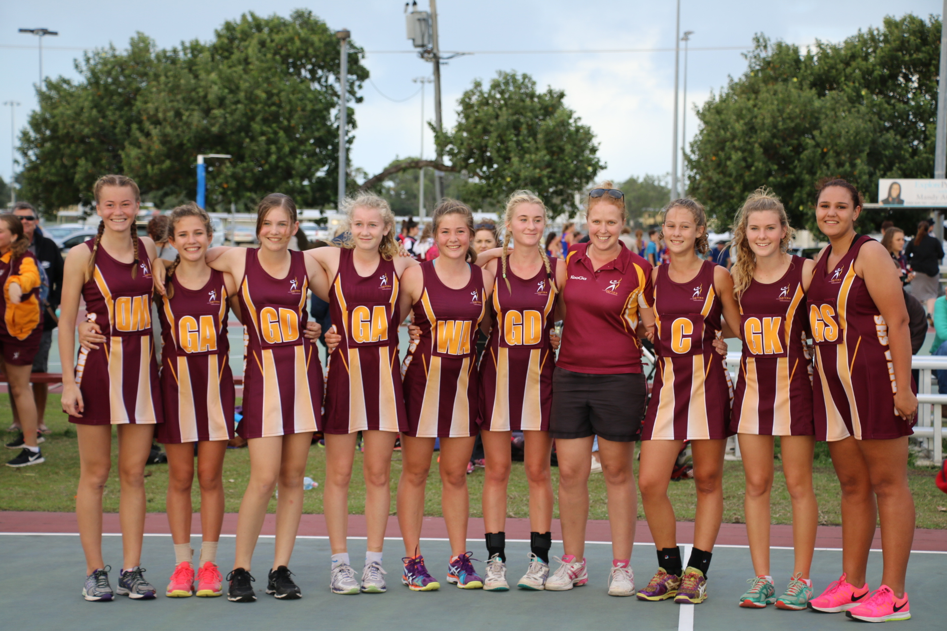 Year 9/10 Netball Team wins Grand Final