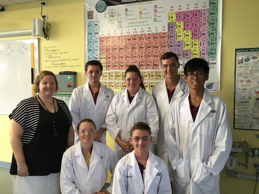 RACI Regional Titration Competition